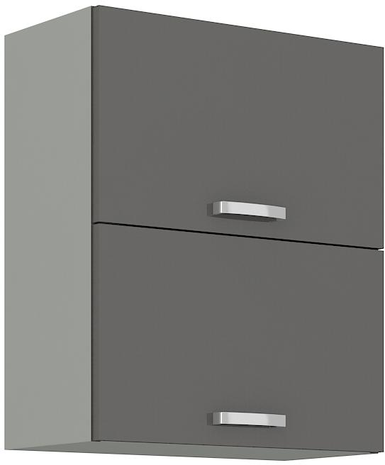 Oberschrank 60 cm / 72  cm mit Klapptür Grey