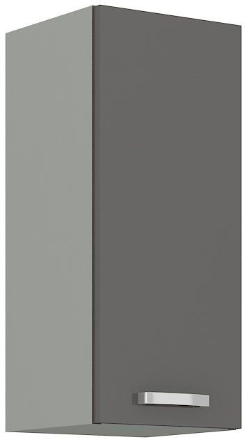 Oberschrank 30 cm / 72  cm Grey