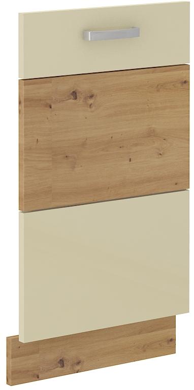 Geschirrspülerfront 45 cm Vollintegrierbar ARTISAN Creme HG