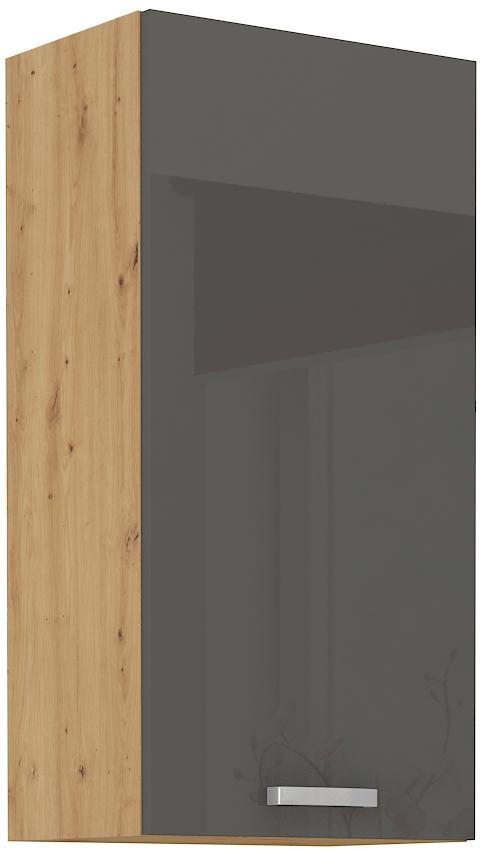 Oberschrank 45 cm / 90  cm ARTISAN Grau HG
