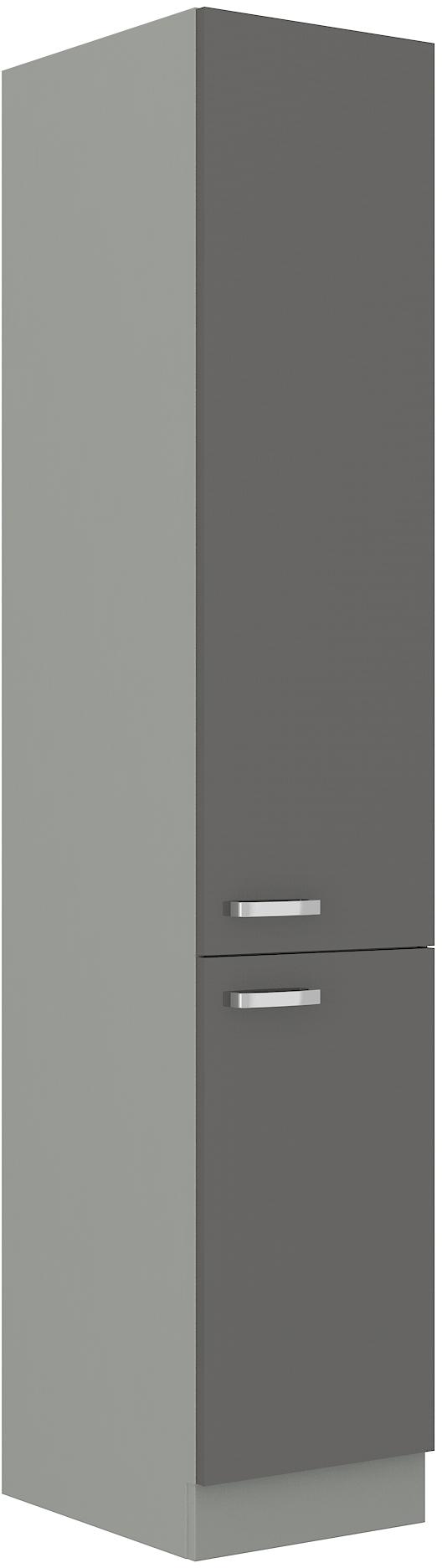 Hochschrank 40 cm / 210 cm Grey