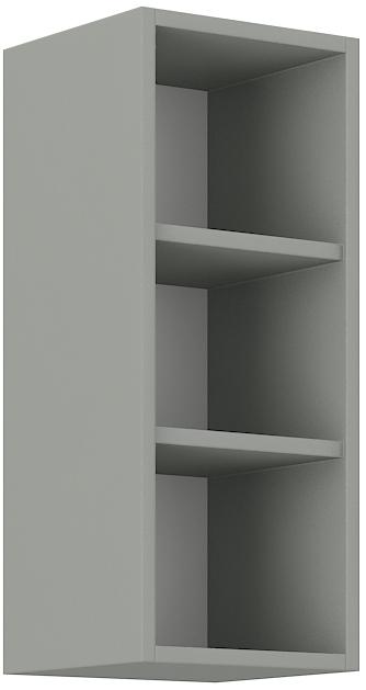 Offener Oberschrank 30 cm / 72  cm Bianca