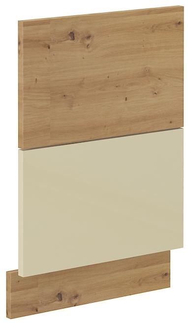 Geschirrspülerfront 45 cm Teilintegrierbar ARTISAN Creme HG