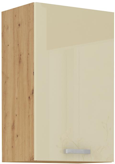 Oberschrank 45 cm / 72  cm ARTISAN Creme HG