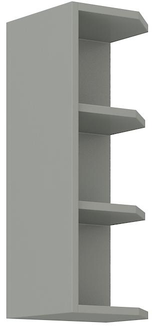 Oberer Abschlussschrank 30 cm / 72  cm Grey