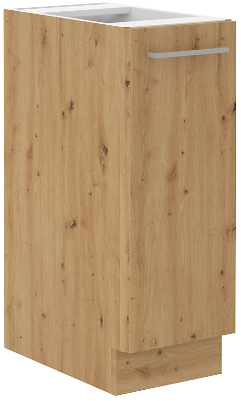 Unterschrank 30 cm Vorratsauszug ARTISAN Grau HG