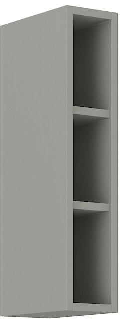 Offener Oberschrank 15 cm / 72 cm Karmen