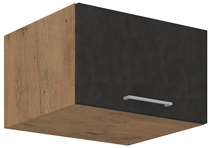 Aufsatzoberschrank 60 cm / 36  cm mit Klapptüre VIGO MATERA  mat