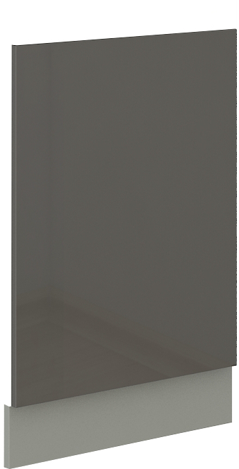 Geschirrspülerfront 45 cm Teilintegrierbar Grey