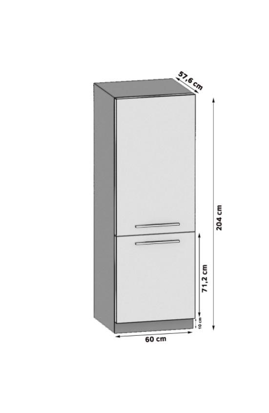 Kühlschrankumbauschrank