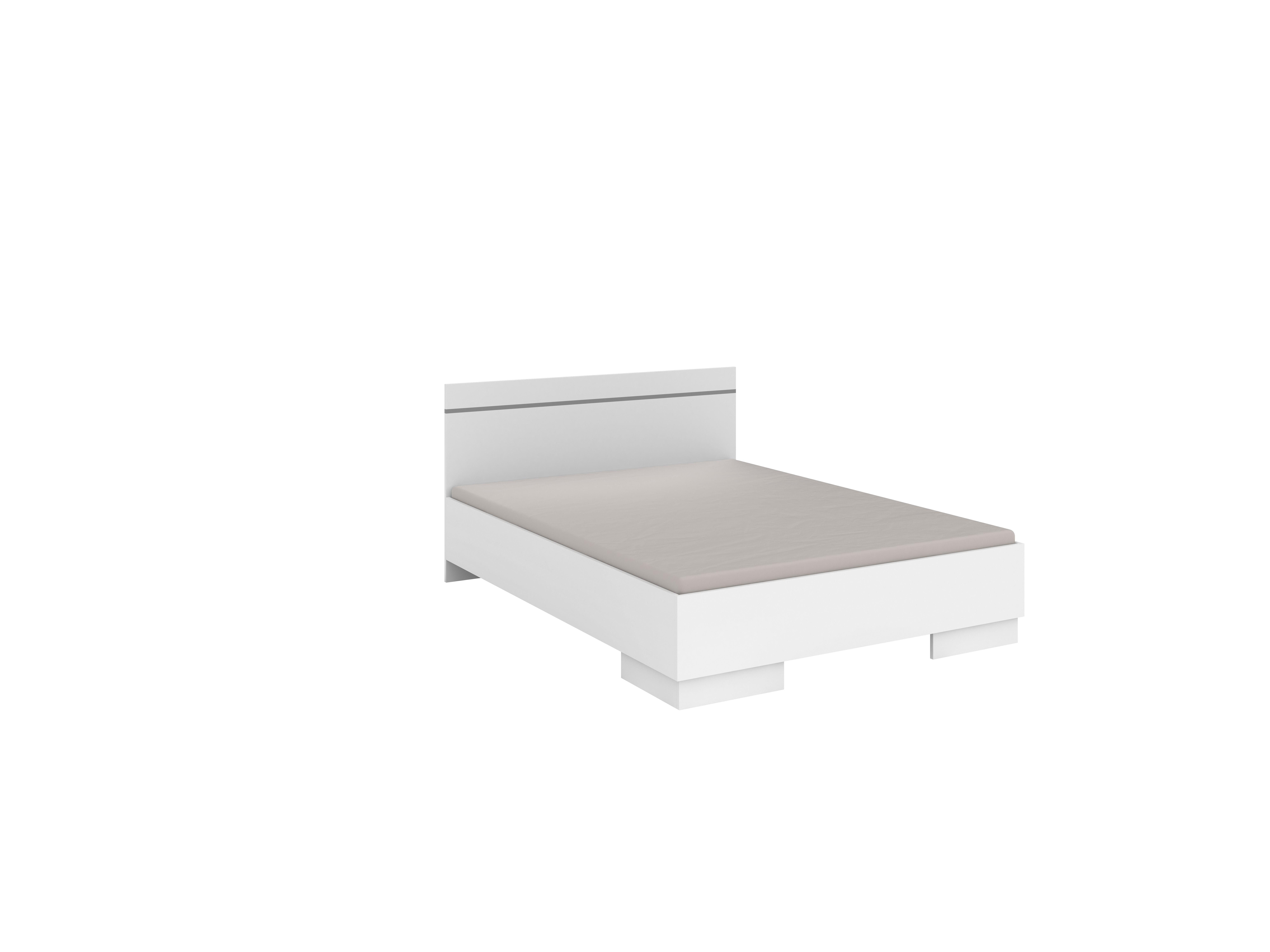 Bett Vista 150 Weiß