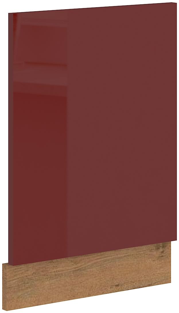 Geschirrspülerfront 45 cm Teilintegrierbar Vigo Weinrot HG