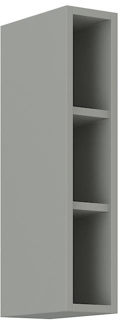 Offener Oberschrank 15 cm / 72 cm Bianca