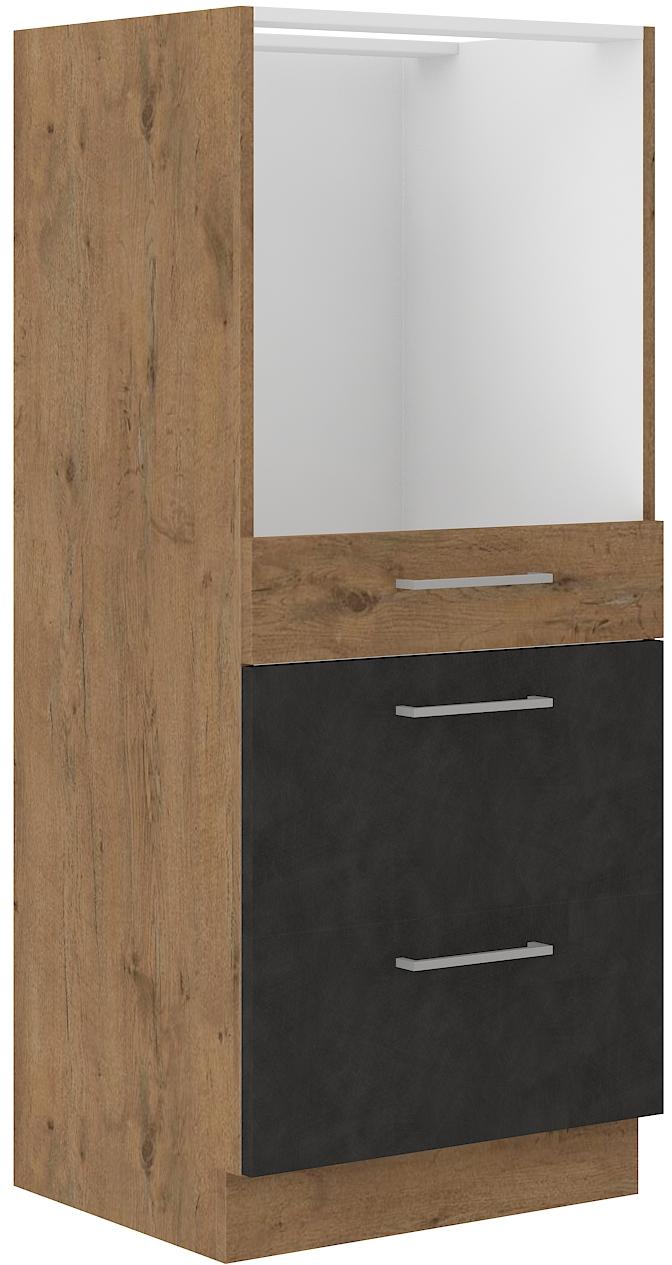 Backofenhochschrank 60 cm / 145 cm mit Schubladen VIGO MATERA  mat
