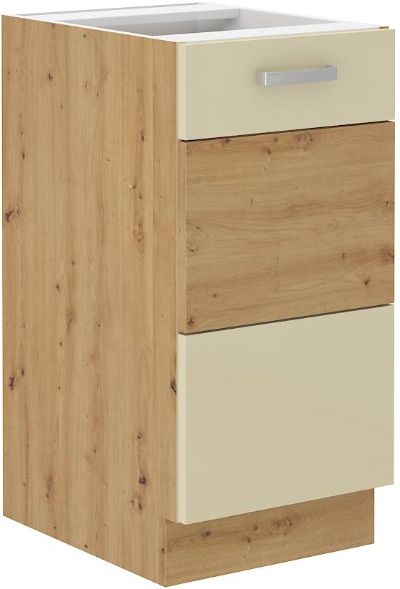 Unterschrank 40 cm ARTISAN Creme HG