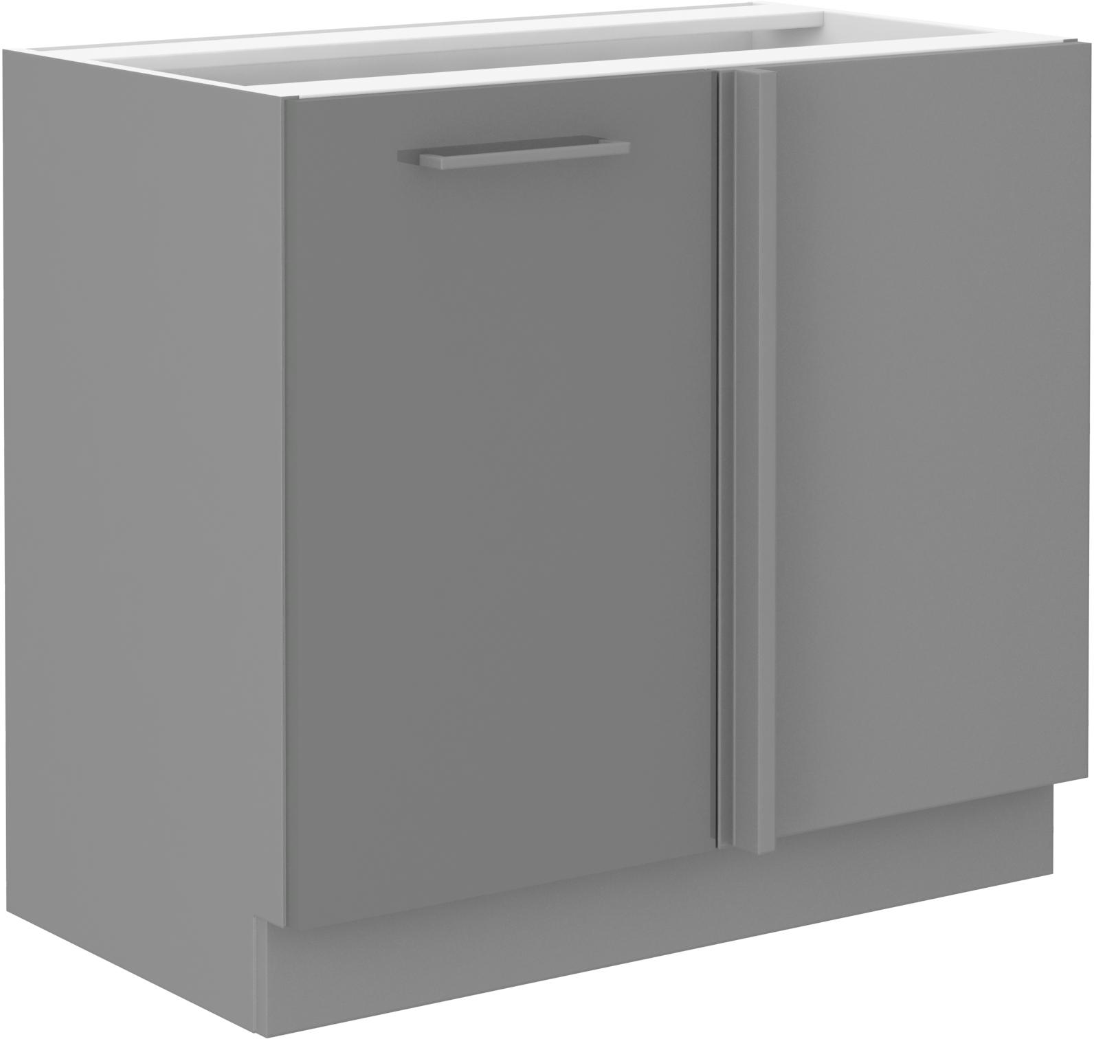 Eckunterschrank 105 cm Grey