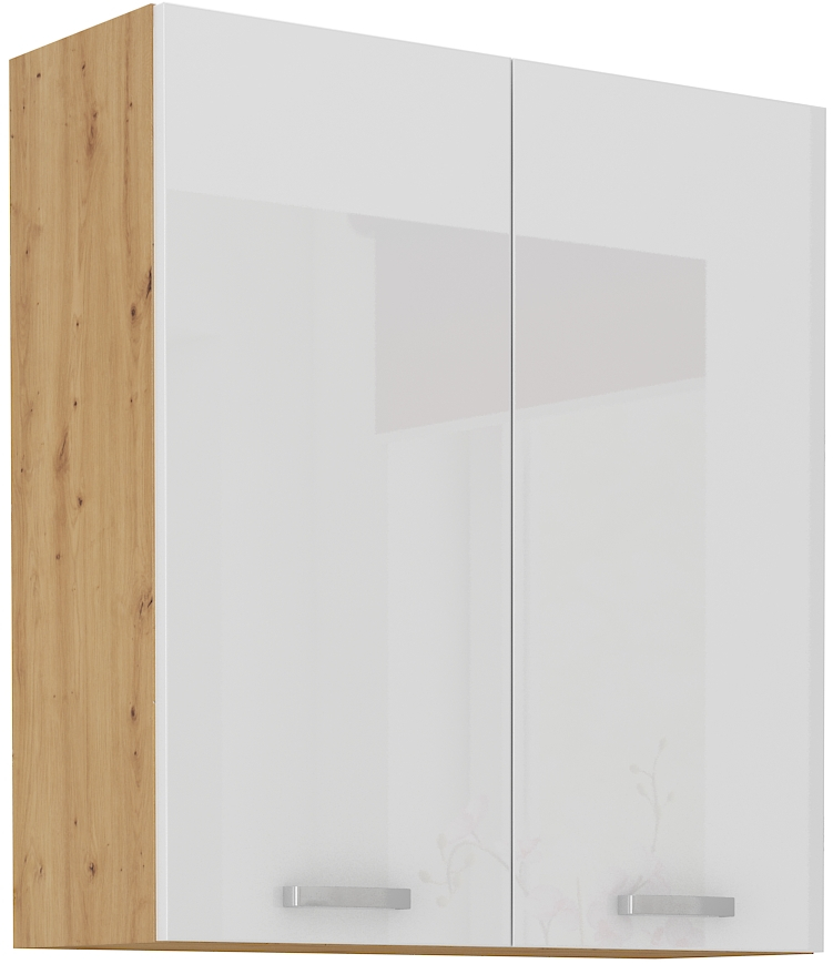 Oberschrank 80 cm / 90 cm Artisan weiß HG