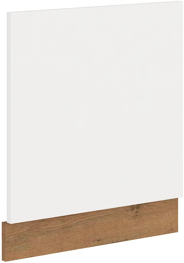 Geschirrspülerfront 60 cm Teilintegrierbar VIGO Weiss HG
