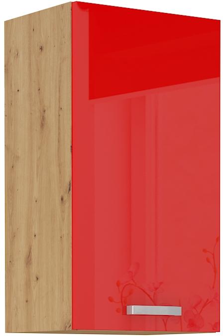 Oberschrank 40 cm / 72  cm ARTISAN Rot HG