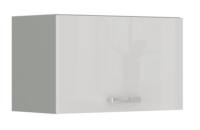Oberschrank 60 cm / 36  cm mit Klapptür Bianca