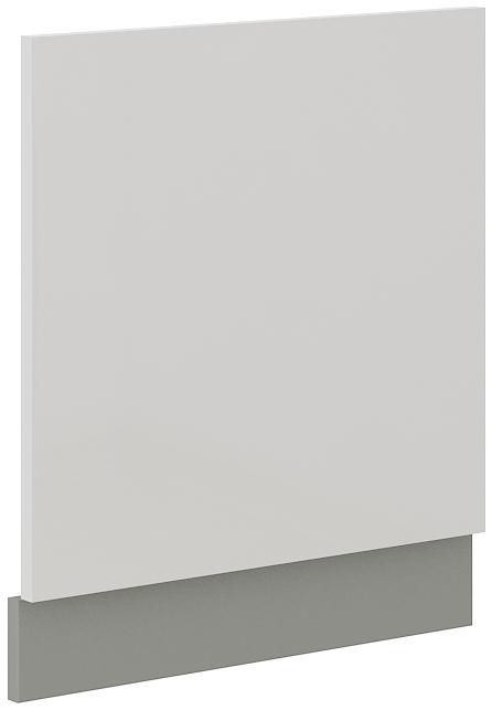 Geschirrspülerfront 60 cm Teilintegrierbar Bianca