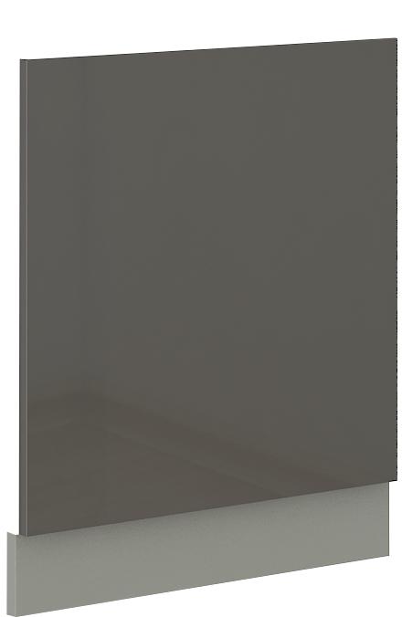 Geschirrspülerfront 60 cm Teilintegrierbar Grey