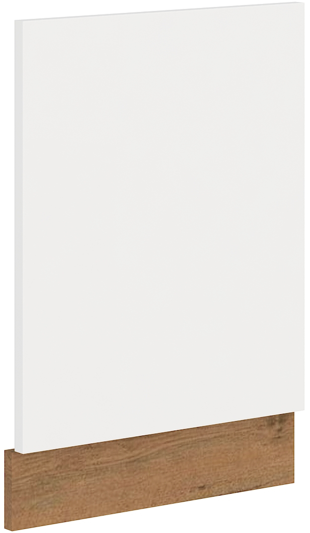 Geschirrspülerfront 45 cm Teilintegrierbar VIGO Weiss HG