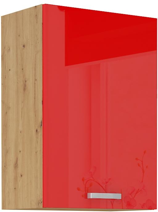 Oberschrank 50 cm / 72  cm ARTISAN Rot HG