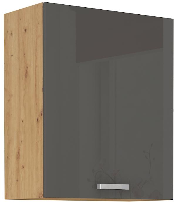 Oberschrank 60 cm / 72  cm ARTISAN Grau HG