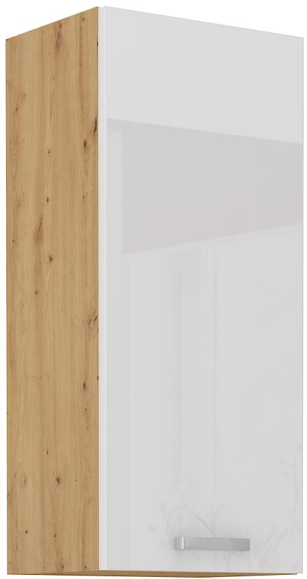 Oberschrank 40 cm / 90 cm Artisan weiß HG
