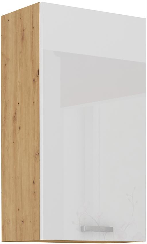 Oberschrank 45 cm / 90 cm Artisan weiß HG