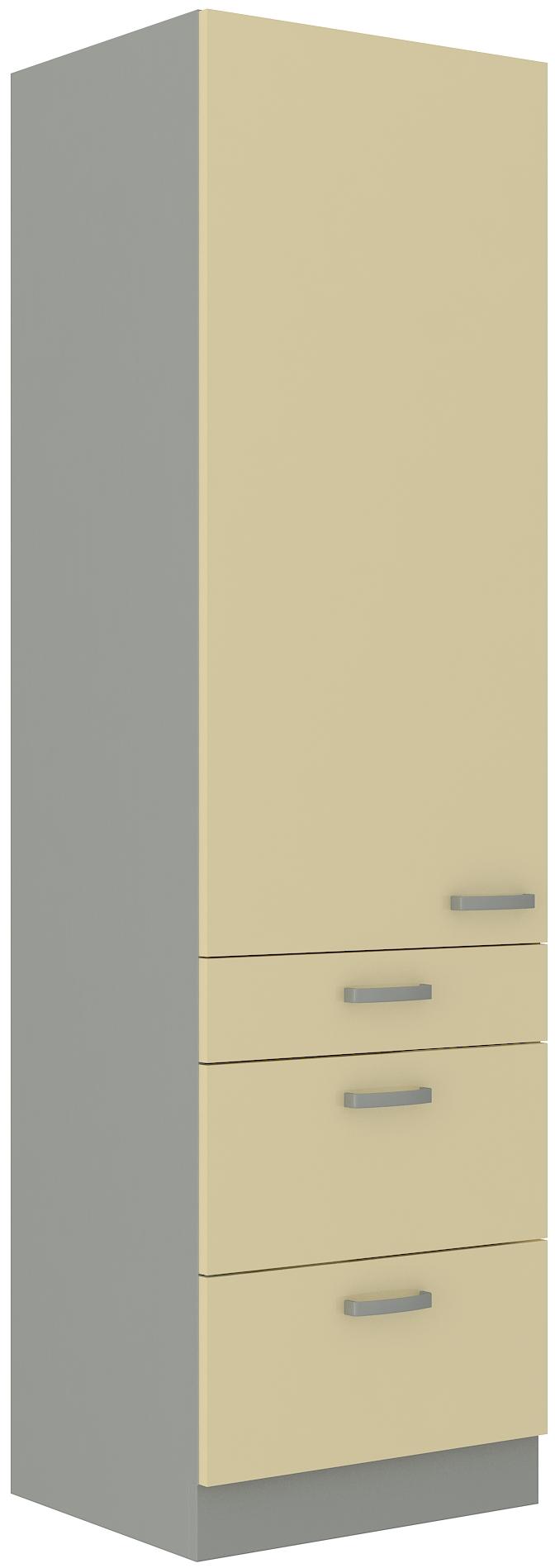 Backofenhochschrank 60 cm / 210 cm mit Schubladen Karmen