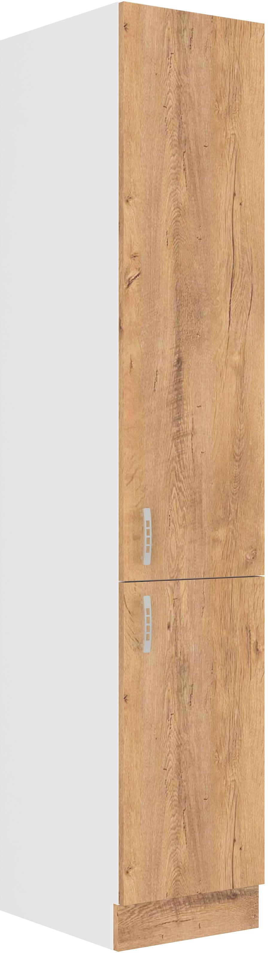 Hochschrank 40 cm / 210 cm mit Schubladen Sara Lefkas
