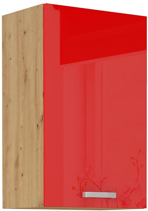 Oberschrank 45 cm / 72  cm ARTISAN Rot HG