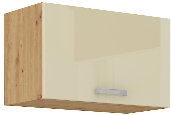 Oberschrank 60 cm / 36  cm mit Klapptür ARTISAN Creme HG