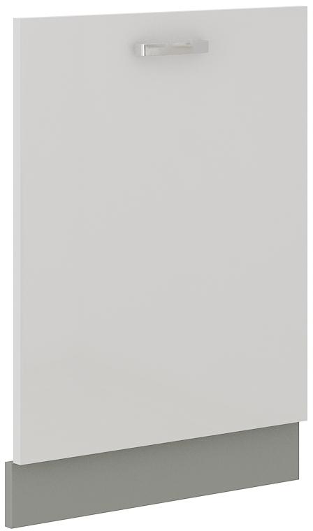 Geschirrspülerfront 60 cm Vollintegrierbar Bianca