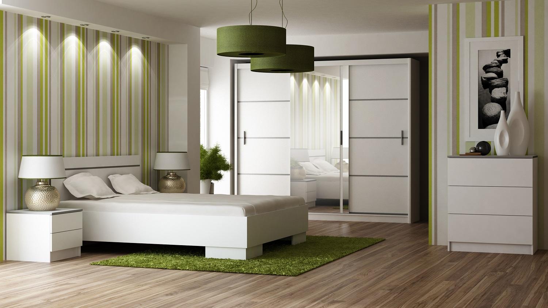 Schlafzimmer-Sets Vista Weiß