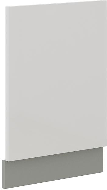 Geschirrspülerfront 45 cm Teilintegrierbar Bianca