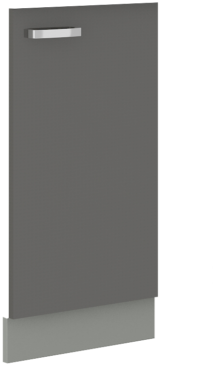Geschirrspülerfront 45 cm Vollintegrierbar Grey