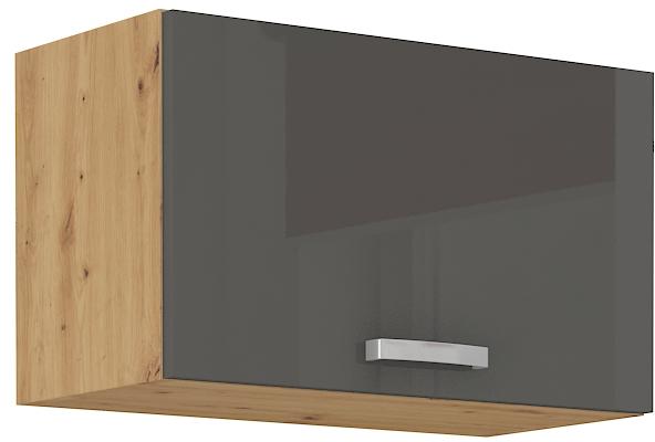 Oberschrank 60 cm / 36  cm mit Klapptür ARTISAN Grau HG