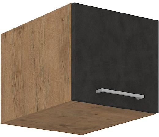 Aufsatzoberschrank 40 cm / 36  cm mit Klapptüre VIGO MATERA  mat