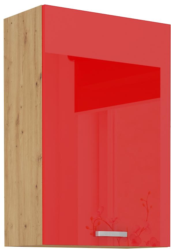 Oberschrank 60 cm / 90  cm ARTISAN Rot HG