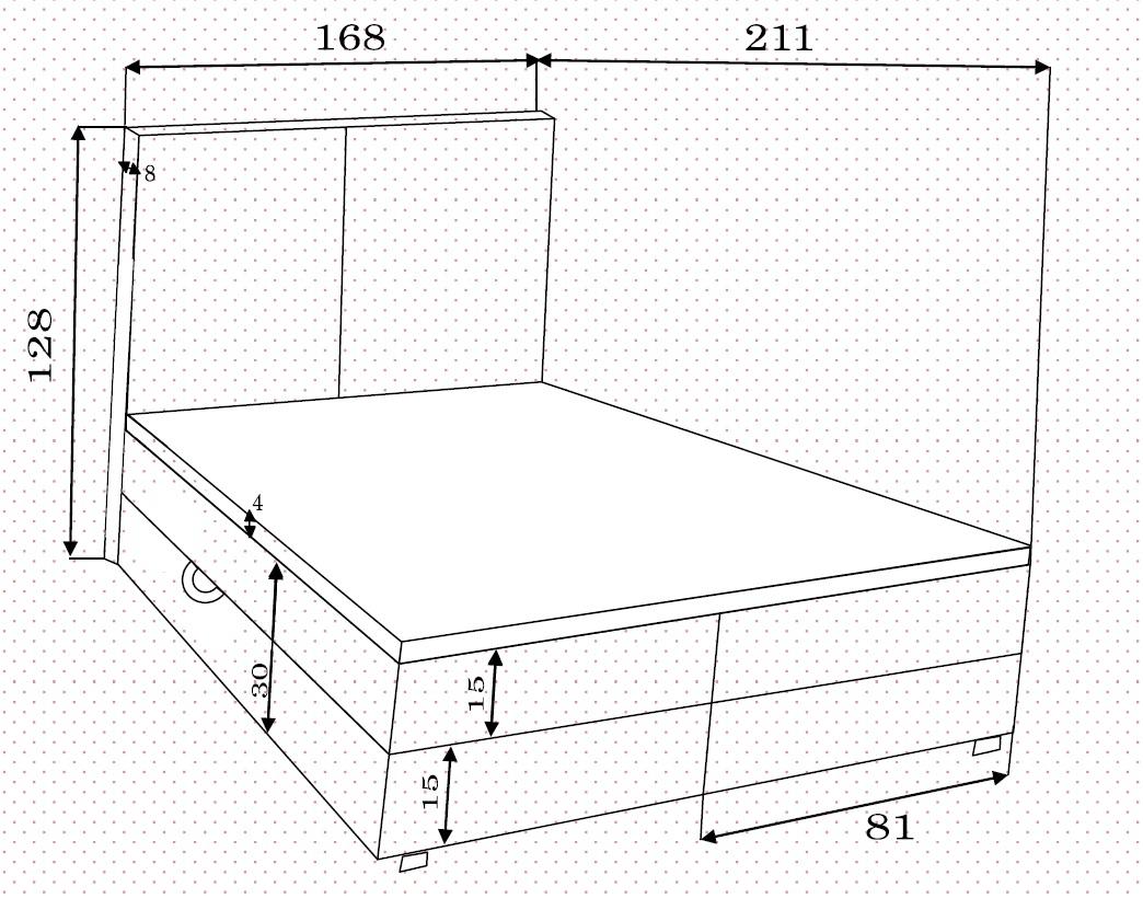 Boxspringbett Ariel 160 cm