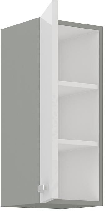 Oberschrank 30 cm / 72  cm Bianca