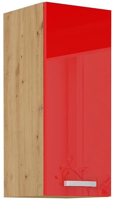 Oberschrank 30 cm / 72  cm ARTISAN Rot HG