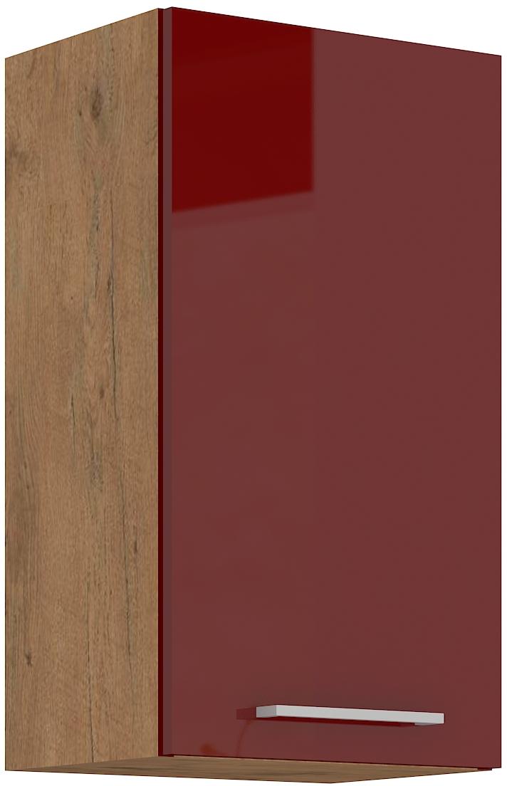 Oberschrank 40 cm / 72  cm Vigo Weinrot HG