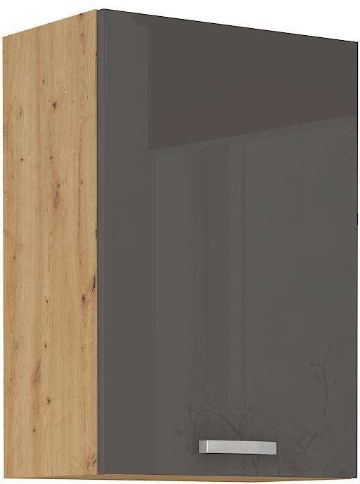 Oberschrank 50 cm / 72  cm ARTISAN Grau HG
