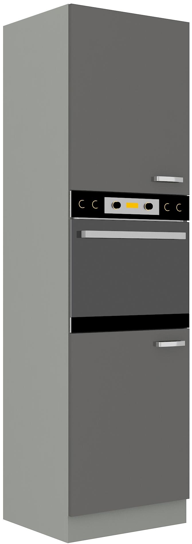 Backofenhochschrank 60 cm / 210 cm Grey
