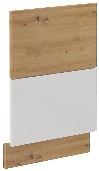 Geschirrspülerfront 45 cm Teilintegrierbar Artisan weiß HG