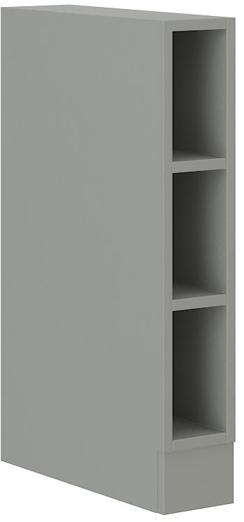 Offener Unterschrank 15 cm Grey